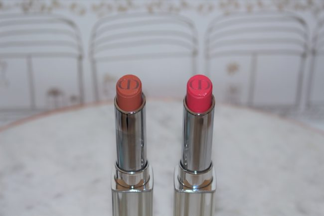 Dior Summer 2018 Addict Lipsticks - Nude Chill and Pink Drop