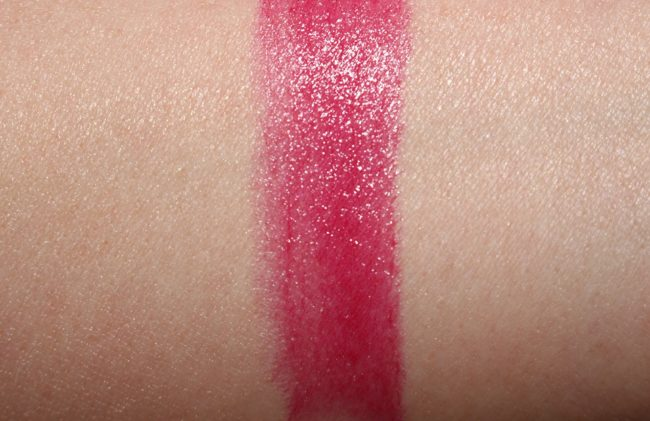 Givenchy Les Saison 2018 African Light - Rouge Interdit Vinyl in 18 African Raspberry Swatch