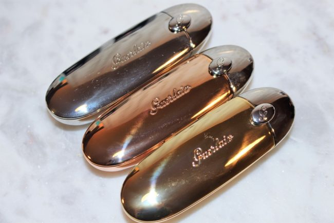 Guerlain Rouge G Gold Cases - The Original, Romantic Boheme, Parure Gold