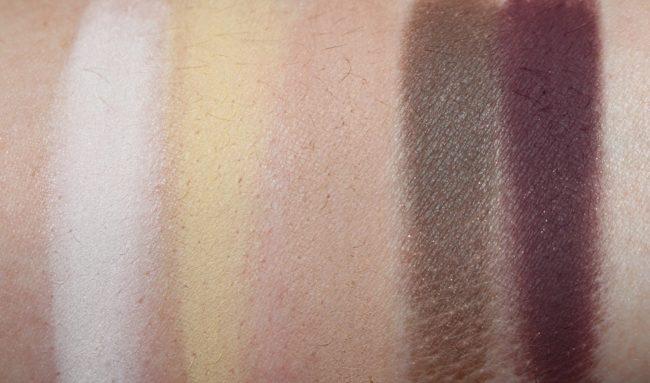 Kat Von D Metal Matte Mini Eyeshadow Palette Swatches - Matte