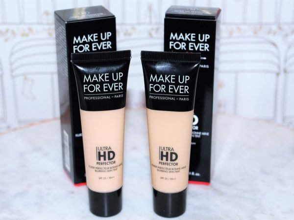 Makeup forever ultra hd perfector blurring skin tint
