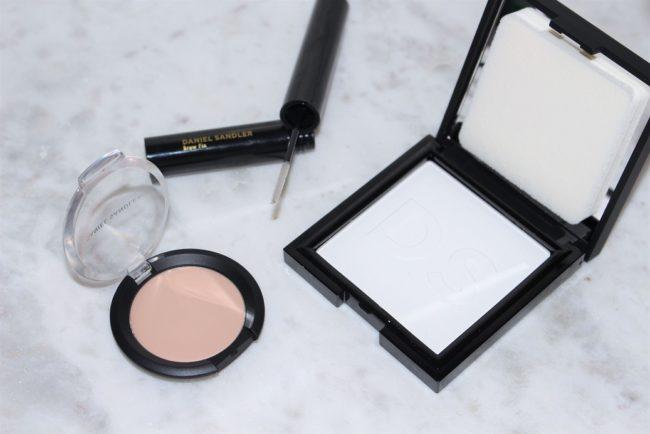 Daniel Sandler Invisible Radiance Concealer, Brow Fix & New Blotting Powder
