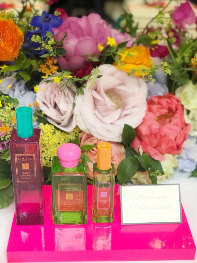 Jo Malone Hot Blossoms - Cattleya Flower Body Mist & Tropical Cherimoya Cologne