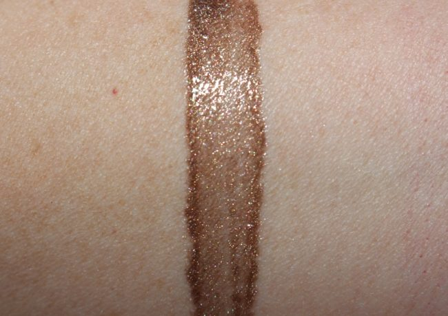 MAC Mirage Noir Lipglass - Soft Shell Swatch