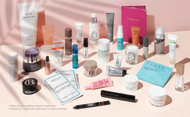 Space NK Free Gift with Purchase May 2018 - Explorer Gift Contents Worth £450
