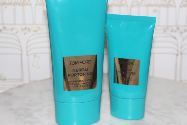Tom Ford Neroli Portofino Warming Body Scrub & Hand Cream