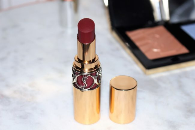 YSL Summer 2018 Rouge Volupte Shine - Red in the Darkness