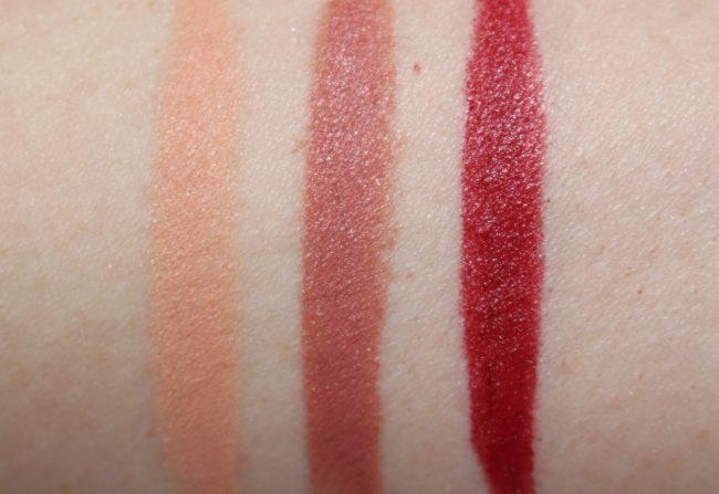 Crayola Beauty Lip and Cheek Crayon Swatches