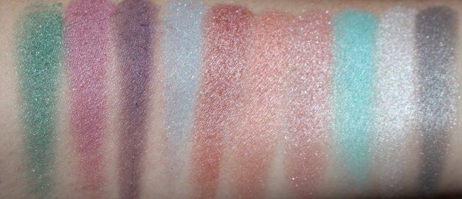 Crayola Beauty Mermaid Eyeshadow Palette Swatches