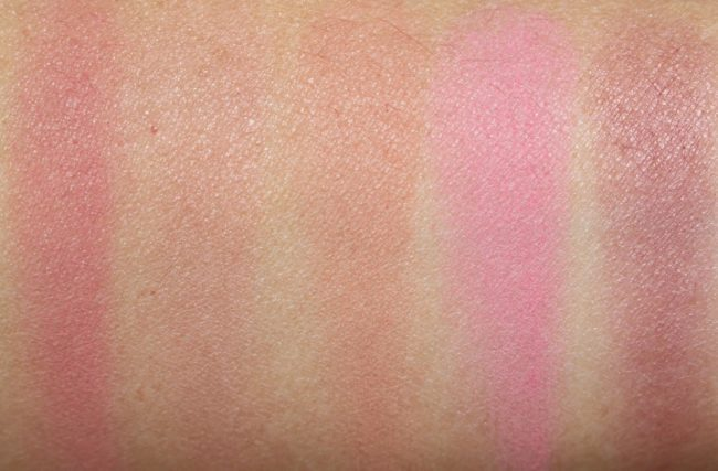 Laura Mercier Blush Colour Infusion - Matte Swatches