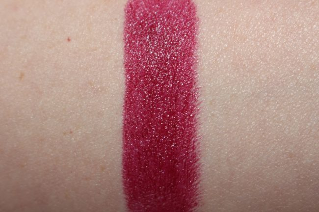 MAC Aaliyah More Than A Woman Lipstick Swatch