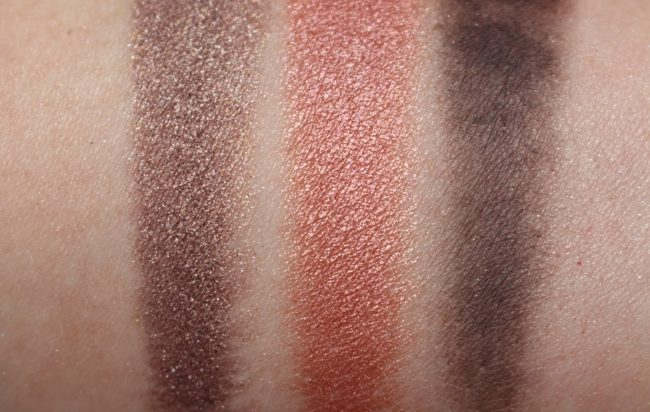 MAC Aaliyah Eyeshadow Palette - Age Ain't Nothing Swatches
