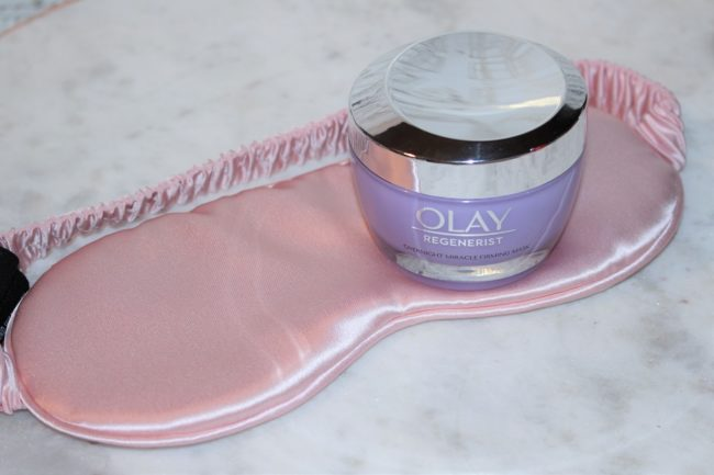 Olay Regenerist Overnight Miracle Firming Mask Review