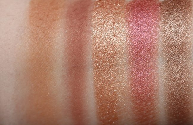 Zoeva Voyager Cocoa Blend Swatches