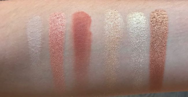 Charlotte Tilbury Stars In Your Eyes Palette Swatches