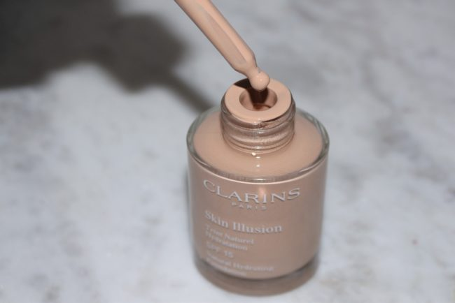 Clarins New Skin Illusion Foundation 2018