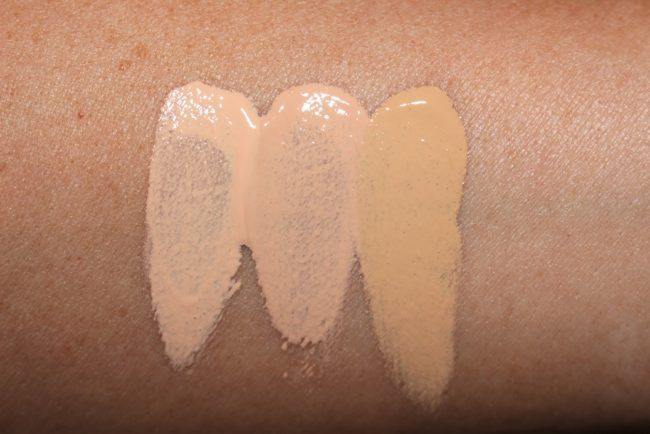 Dolce and Gabbana Millennial Skin On The Glow Tinted Moisturizer Swatches