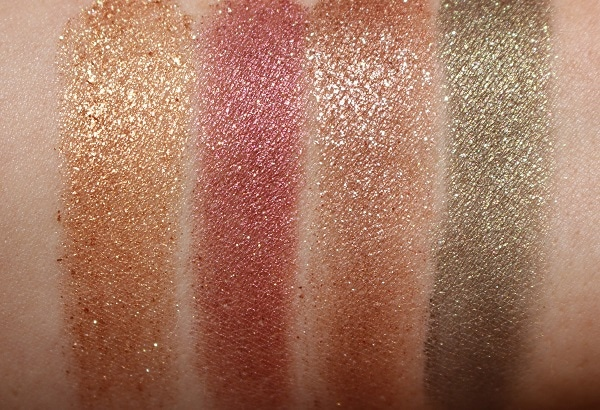 Hourglass Scattered Light Eyeshadow - New Shade Swatches