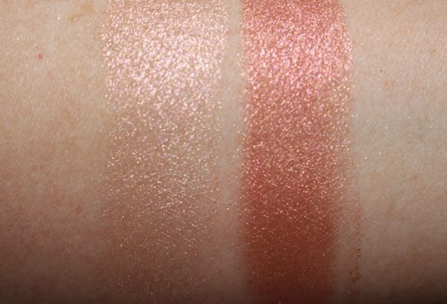 Smashbox Vlada Petal Metal Highlighter Swatches