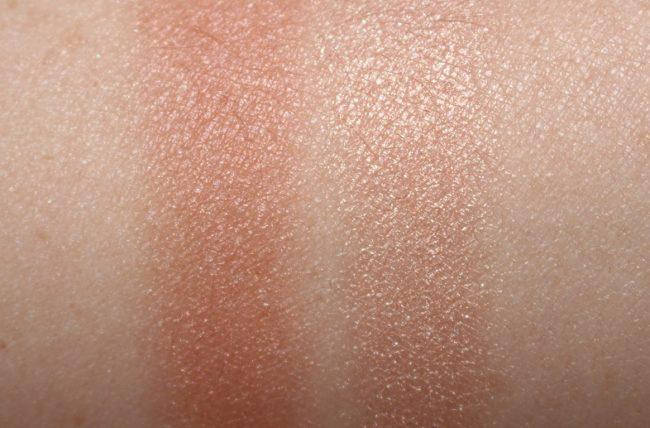 Charlotte Tilbury Pillow Talk Blusher Swish & Glow Swatches