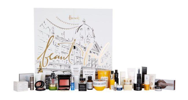 harrods beauty advent calendar 2018 full contents. Black Bedroom Furniture Sets. Home Design Ideas