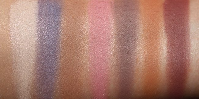 Anastasia Norvina Eyeshadow Palette Swatches - Matte