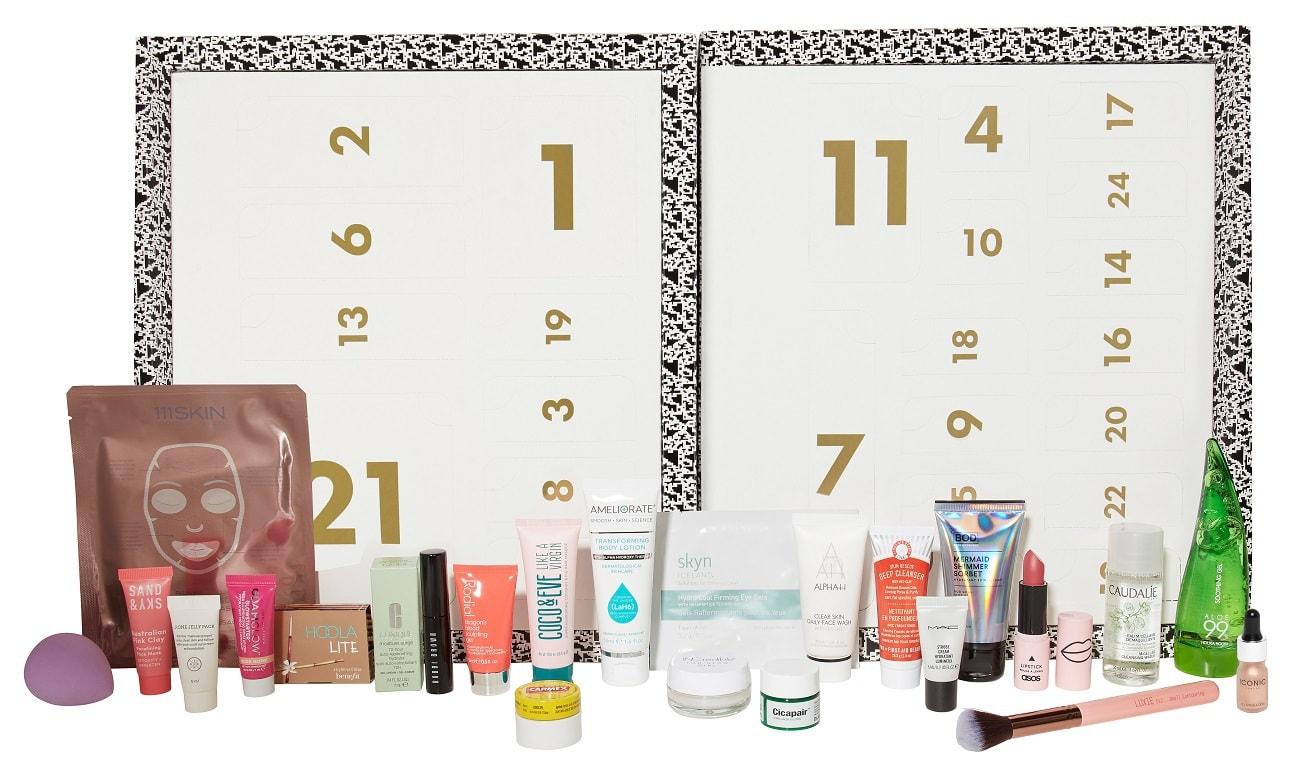 asos beauty advent calendar 2018 20 off now. Black Bedroom Furniture Sets. Home Design Ideas