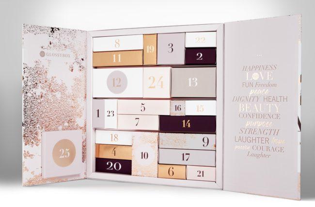 Glossybox Advent Calendar 2018