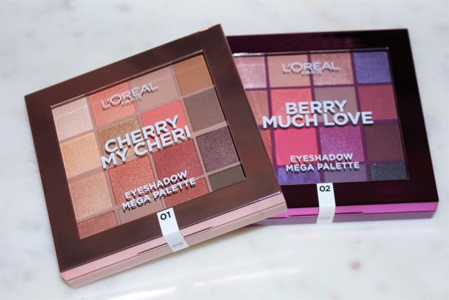 L'Oreal Paris Eyeshadow Palette Cherry My Cheri & Berry Much Love
