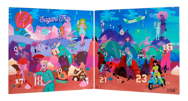 NYX Advent Calendar 2018 - Sugar Trip 24 Days of Beauty