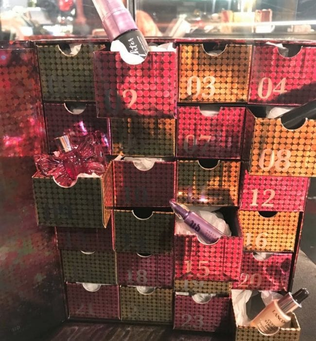 Selfridges L'Oreal Luxe Advent Calendar 2018 Glam Sparkle