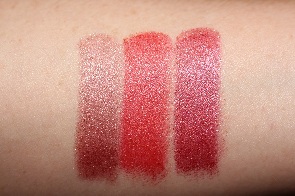 Chantecaille Holiday 2019 Lip Cristal Swatches