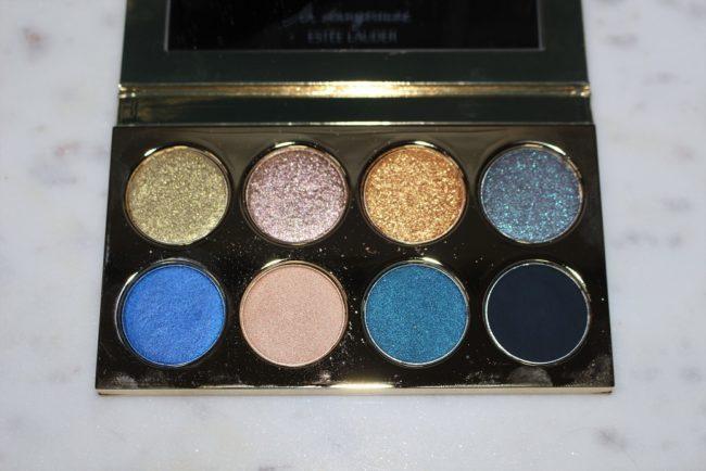 Estee Lauder Violette La Dangereuse Eye Palette - Blue Dahlia