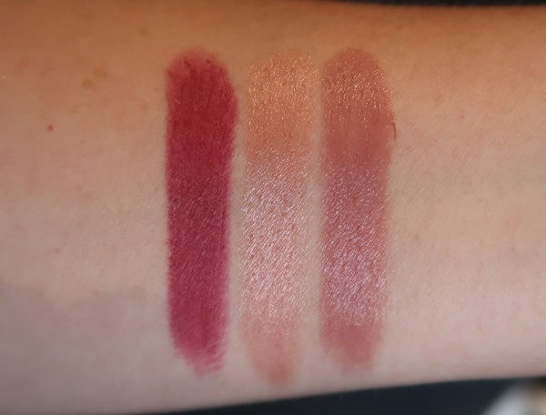 Rouge G Shades - 94, 95, 96 swatches