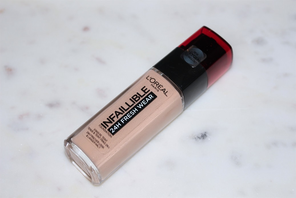 L Oreal Infallible 24h Fresh Wear Foundation Review