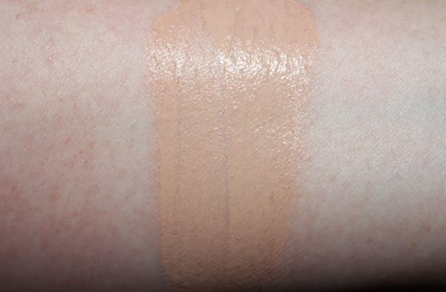 L'Oreal Infallible 24H Fresh Wear Foundation Swatch 145 Rose Beige