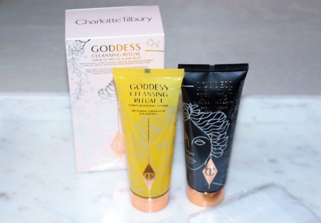Charlotte Tilbury Goddess Cleansing Ritual Miracle Spa-in-a-Jar Duo