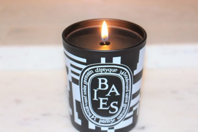 Diptyque Baies Black Candle for Black Friday