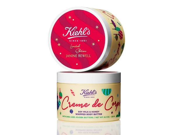 Kiehl's Holiday 2019 Whipped Creme De Corps Janine Rewell Limted Edition