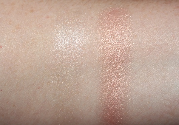 La Mer The Glow Highlighter Swatches