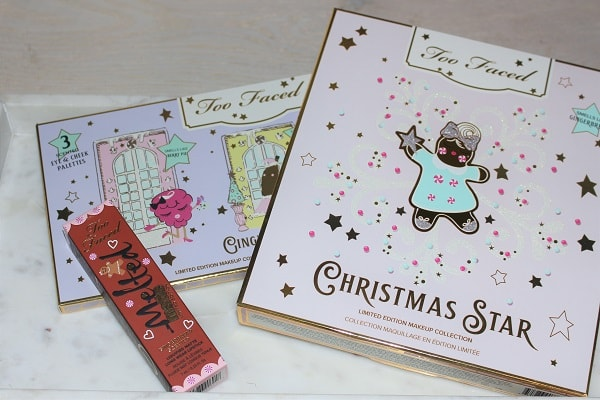 Too Faced Christmas 2019 - Christmas Star & Gingerbread Lane