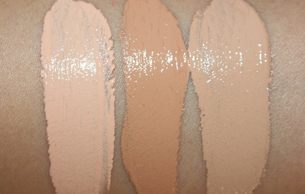 Laura Mercier Flawless Lumiere Radiance Perfecting Foundation Swatches