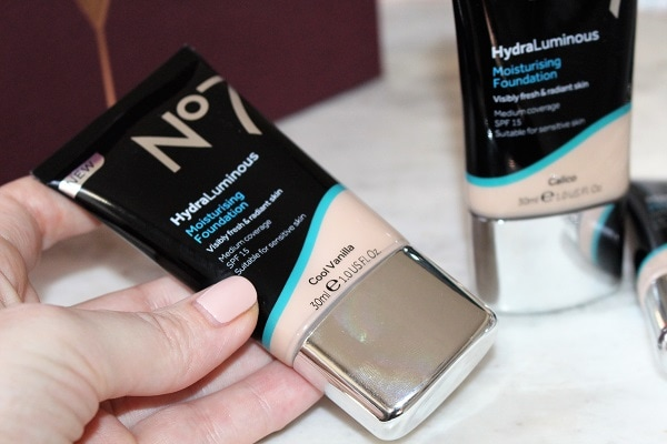 No7 Hydra Luminous Moisturising Foundation