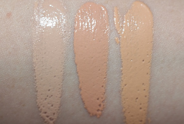 Trinny London BFF Eye Serum Concealer Swatches