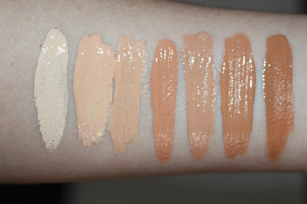 YSL Touche Elcat High Cover Radiance Concealer Swatches