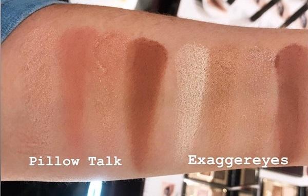 Charlotte Tilbury Exaggereyes Palette vs Pillow Talk Palette
