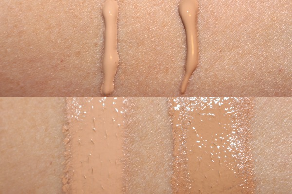 Clinique Even Better Refresh Foundation Swatches - Ivory & Cardamom