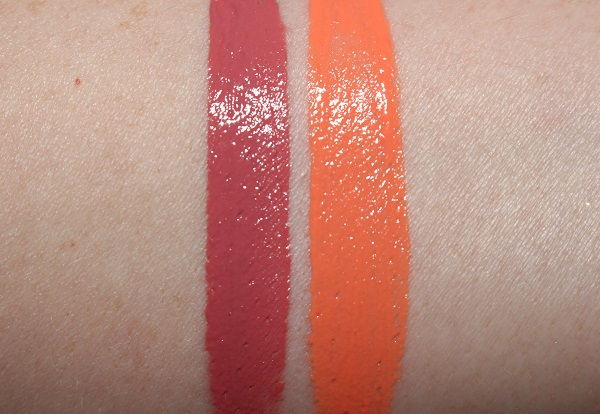 Giorgio Armani Lip Freeze Lip Maestro Swatches