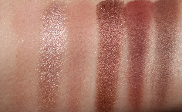 Natural Lust Eyeshadow Swatches