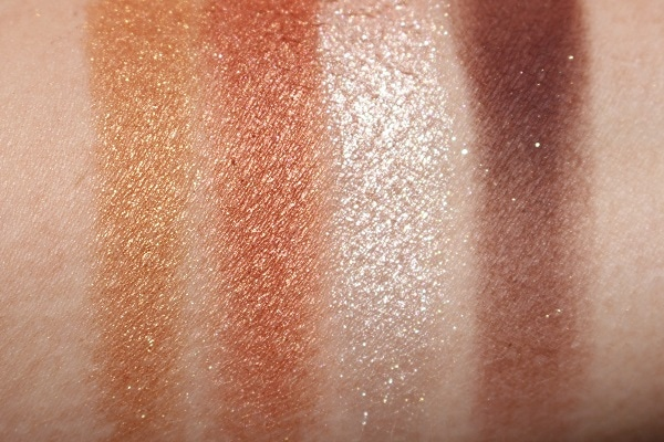 Bobbi Brown Infra Red Eye Palette Swatches
